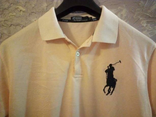 Koszulka męska t-shirt sportowa kompresyjna Polo Ralph Lauren M.
