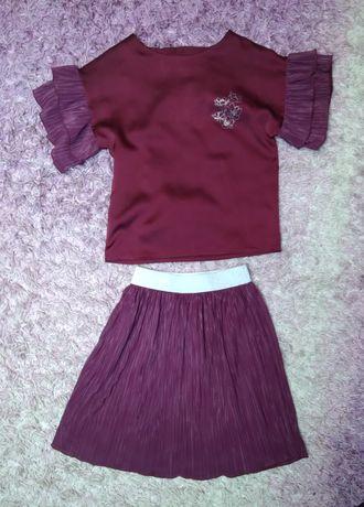 Детский комплект Зіронька р.134 Zironka костюм для девочки