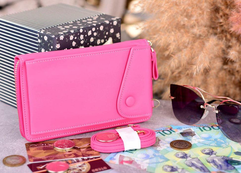Стильный кошелек,сумка,клатч через плечо,чехол для телефона Харьков - изображение 1