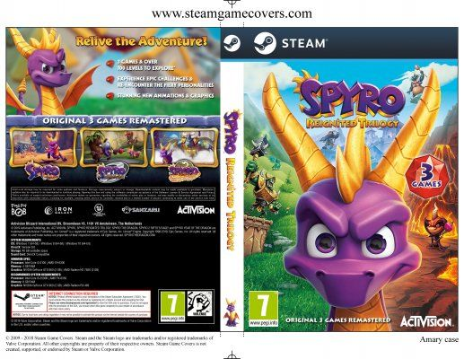 Spyro Reignited Trilogy, klucz steam