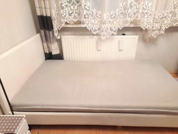 Łóżko do sypialni 120x205 pikowane, ekoskora