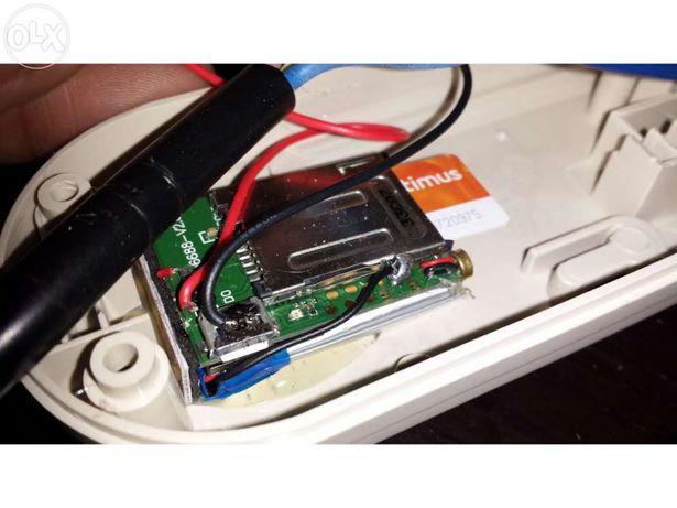 Escuta GSM de som ambiente oculto em tomada extensão electrica sempre