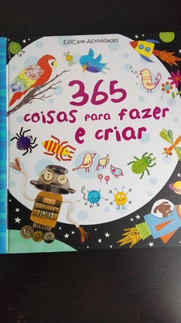 Livros de festas infantis, atividades e culinária para crianças