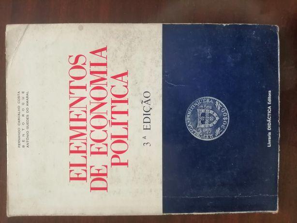 Livro : Elementos de Economia Política.