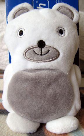 Miś Buddy - maskotka z funkcją kompresu.