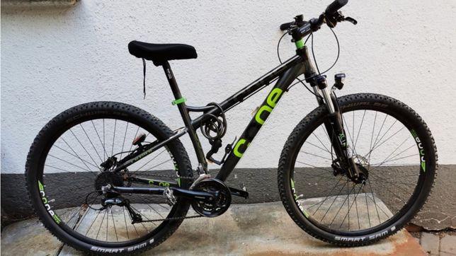 Велосипед  cone рама 16, shimano deore