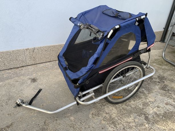 Atrelado para bicicleta - 2 crianças