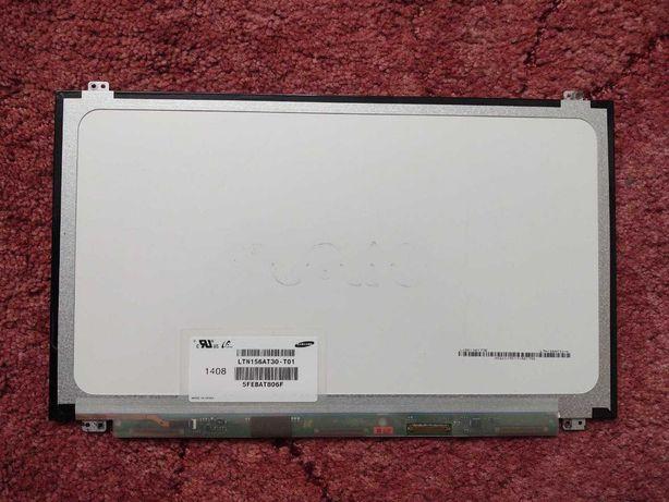 LCD матриця, дисплей LTN156AT30-T01 слім, вертикальні вушка
