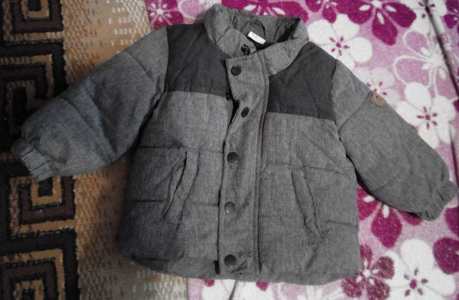 Тёплая куртка на малыша