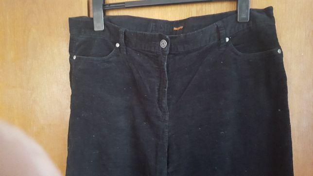 Sztruksowe spodnie 46 w talii 102 cm. Nowe bez metki!