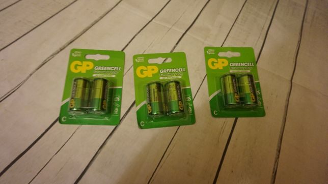 baterie Greencell C r14