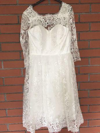 Sukienka ślub cywilny koktajlowa