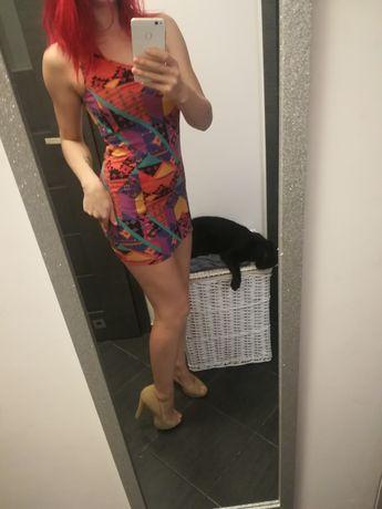 River Island Kolorowa sukienka