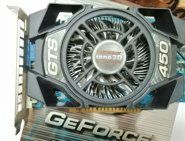 Відеокарта Inno3D GeForce GTS 450 2GB GDDR5 128bit видеокарта 2гб