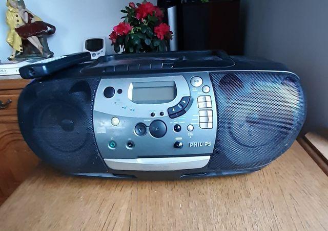 Radioodtwarzacz cd i kaseta