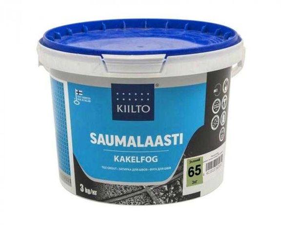 Затирка для плитки KIILTO №65 зелёная оливковый цвет