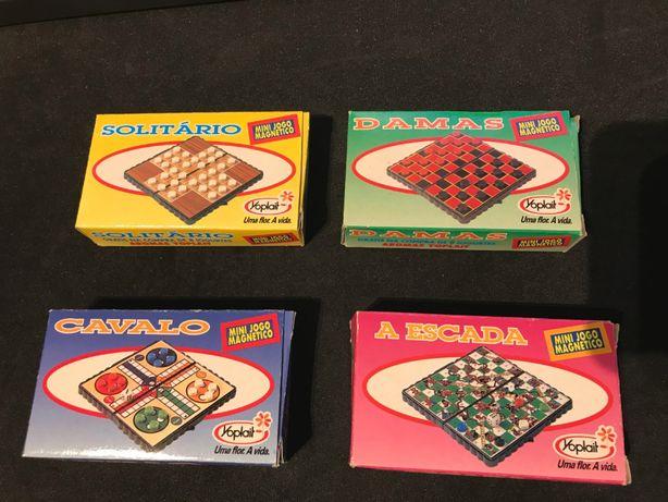 Conjunto Mini Jogos Magnéticos Yoplait - Vintage