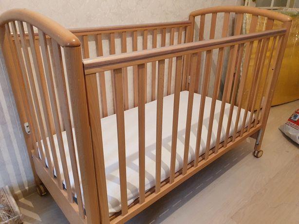 Детская кроватка Pali+ матрас с кокосовой койрой