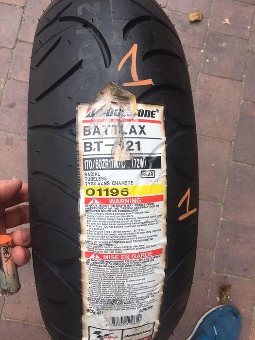 Opona Motocyklowa 170/60/17 Bridgestone Battlax BT021R NOWA 2014 rok Siedlce - image 1