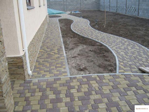 Укладка асфальта,  Тротуарная плитка ( ФЭМ)