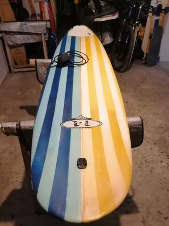 Malibu 8 Epoxy Evolution 7.6 Funboard prancha de surf surfboard