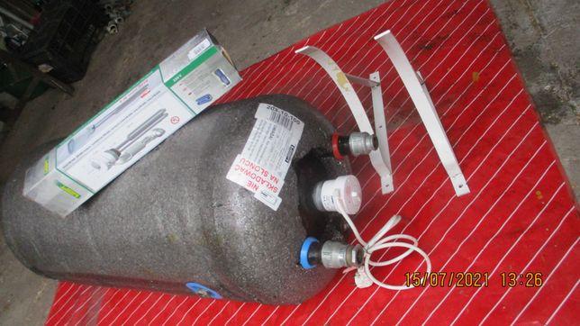 zasobnik   ciepłej wody,bojler z nową grzałką elektr. 100l ocieplony