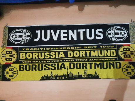 Cachecol Oficial Juventus e Borussia Dortmund