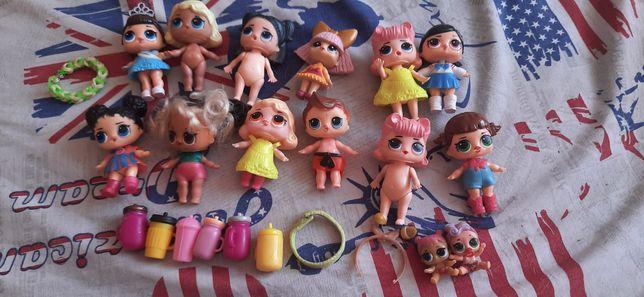 Ляльки Лол 13 штук