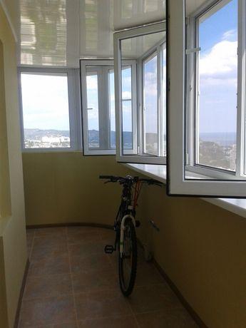 Квартира Алушта! Застекленый балкон 13 кв. метров!!!
