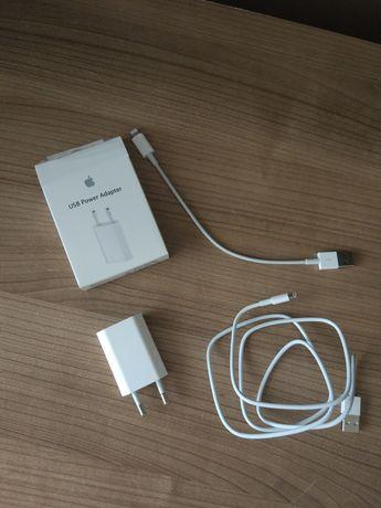 Oryginalna ładowarka do Iphone 5 5S 6 6S 7 8 X dwa kable nowe okazja