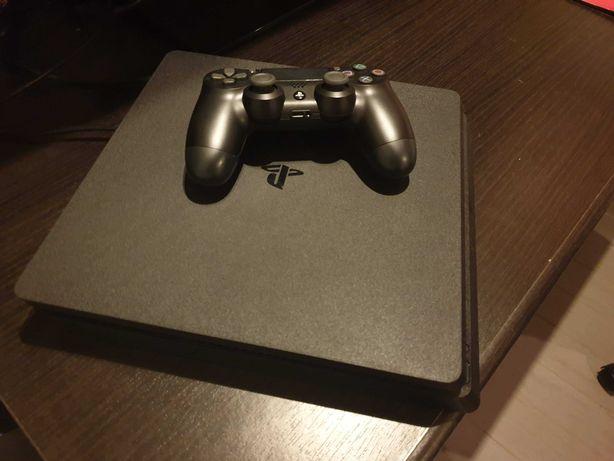 Playstation 4 com comando