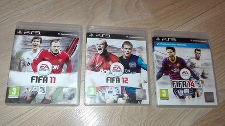 FIFA 11, FIFA 12, i FIFA 14 - Gry PS3