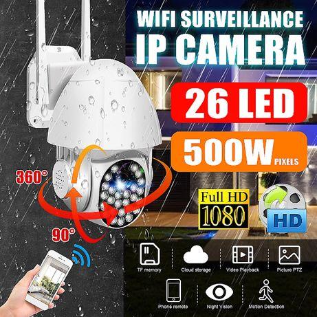 Câmera IP WIFI Vídeo Vigilância * 1080P 3MP * PTZ 360 * AutoTraking