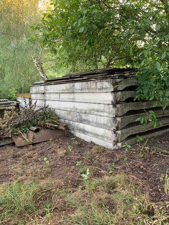 Ребристые железо-бетонные перекрытия.