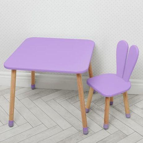 Столик деревяный для детей стульчик детский (МДФ) детская мебель