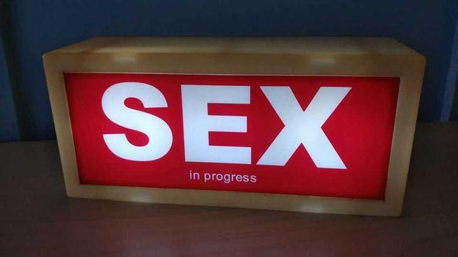 Lâmpada Sex In Progress