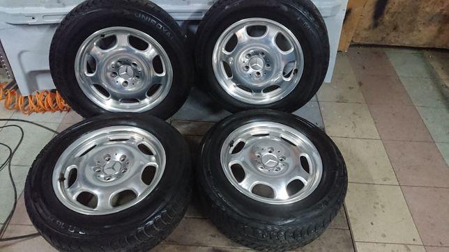 Koła felgi aluminiowe 16 cali 5x112 w211 e klasa w220 205/60 r16