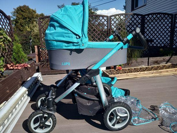 Baby design jak nowy gondola spacerówka wózek pompowane koła adaptery
