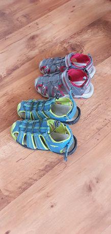 Sandały chłopięce rozm. 29, 19 cm, 2 pary