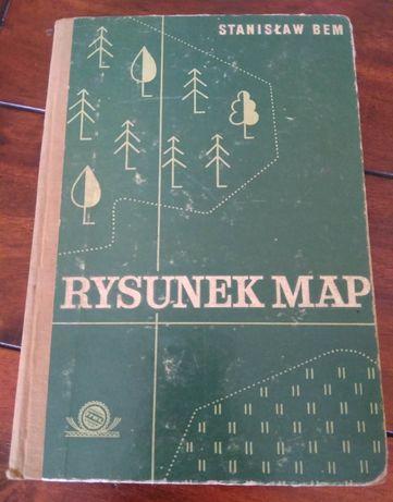 """Stanisław Bem """"Rysunek map"""" wyd. III uzupełnione"""