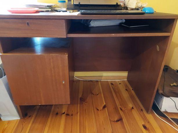 biurko szkolne brązowe za darmo