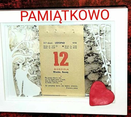 Kartka z kalendarza, Kartki z kalendarza