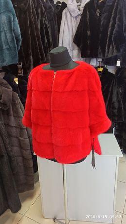 Норковая шуба свитер пончо