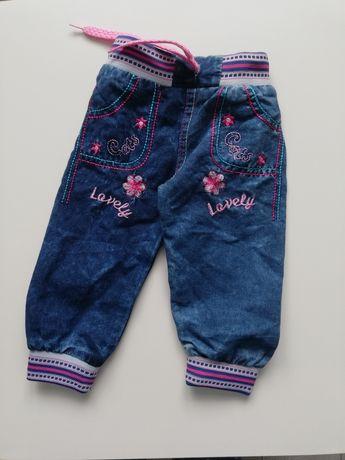 Spodenki jeansy nowe 74