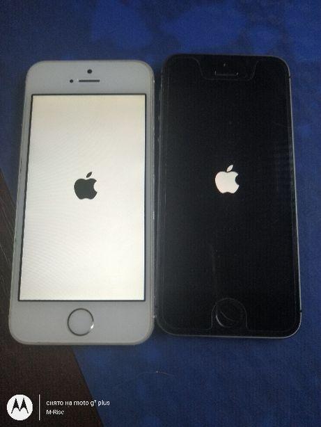 Apple IPhone 5S 16GB из США! Icloud ON ! ios 12.4.8 Неверлок .Донор !.