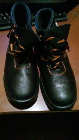Спецобувь. Зимние ботинки без утеплителя. Обмен