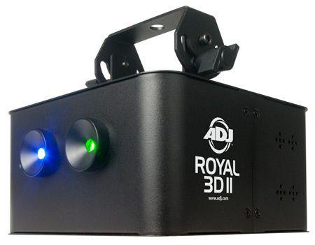 American DJ Royal 3D II Лазер (Eurolite Chauvet Free Color)