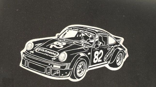autocolante publicitário Porsche Giannone Style moda pele