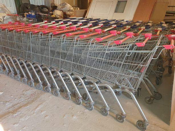 Wózki sklepowe wanzl