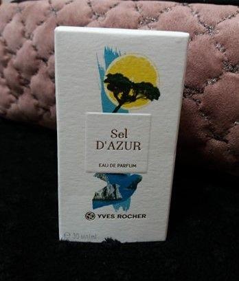 woda perfumowana sel d'azur dazur 30 ml perfumy yves rocher